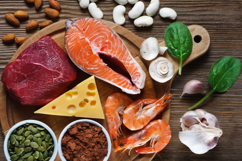 亜鉛の多く含まれる食品