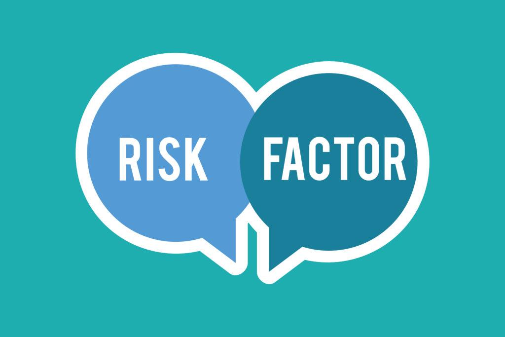 リスクと原因と書かれたイラスト